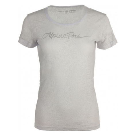 ALPINE PRO BELENA white - Women's T-shirt