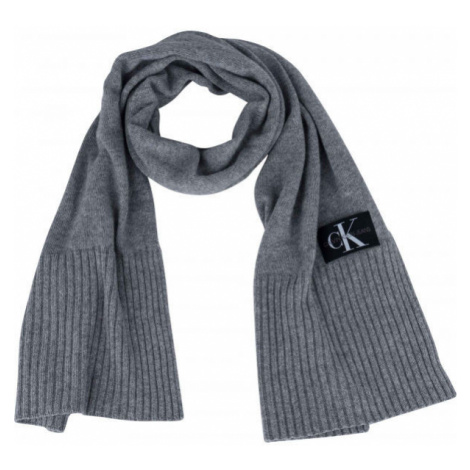Calvin Klein J BASIC MEN KNITTED - Men's scarf