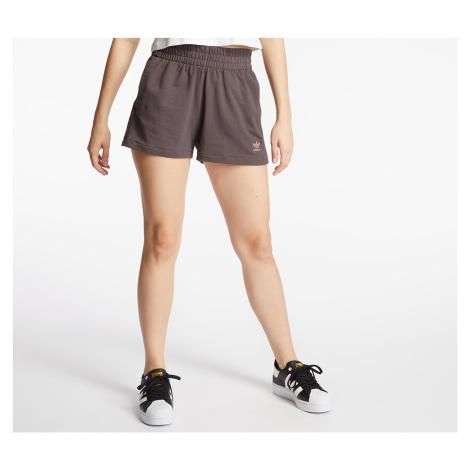 Grey women's training shorts