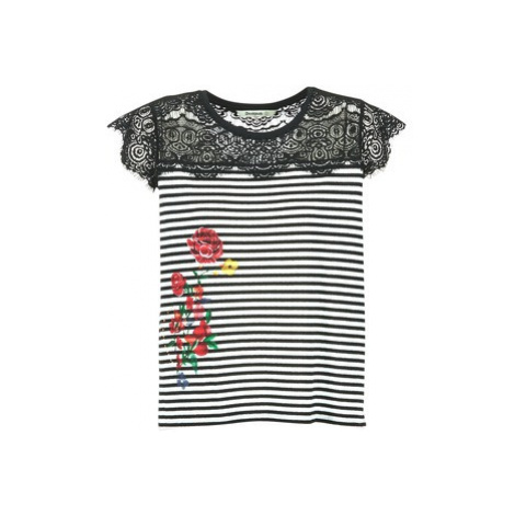 Desigual GRIZELLU women's T shirt in Black