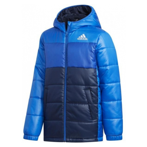 adidas YK J SYNTHETIC blue - Children's winter jacket