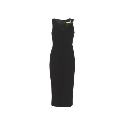 Versace Jeans Couture D2HRA435 women's Long Dress in Black