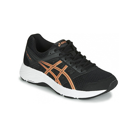 Asics GEL-CONTEND 6 women's Running Trainers in Black