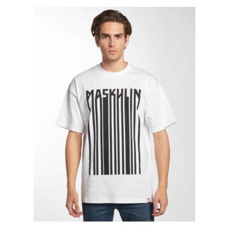 Maskulin / T-Shirt Barcode in white