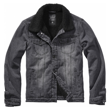 Brandit - Sherpa Denim Jacket - Jeans jacket - black