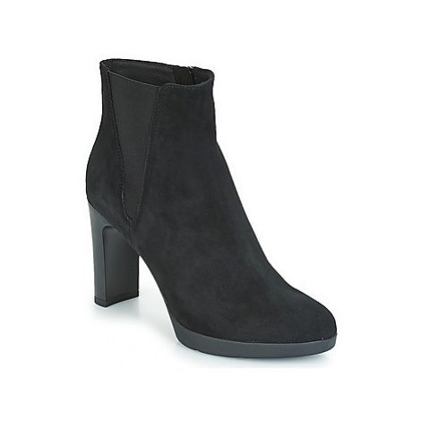 Geox D ANNYA HIGH women's Low Ankle Boots in Black
