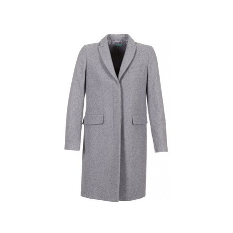 Benetton MADIR women's Coat in Grey United Colors of Benetton