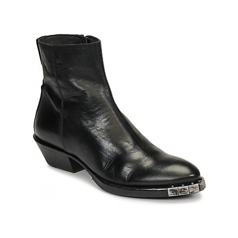 Moma STELLA NERO women's Low Ankle Boots in Black