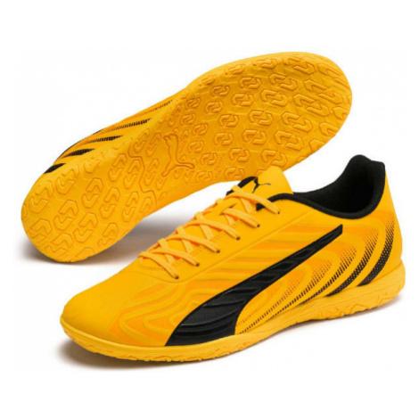 Yellow soccer equipment