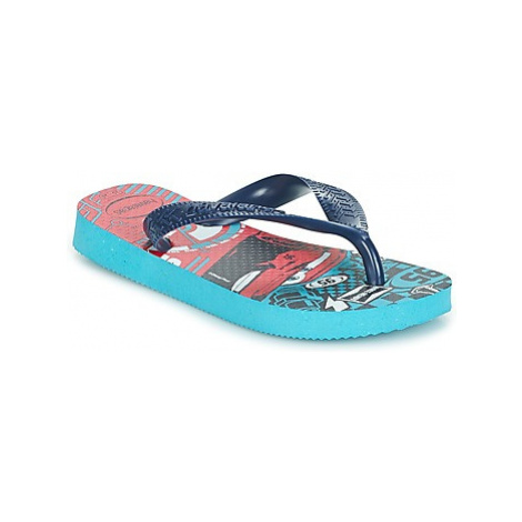 Havaianas KIDS CARS boys's Children's Flip flops / Sandals in Blue