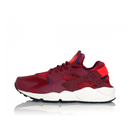 Nike WMNS Huarache Run Printed Deep Garnet Bright Crimson 725076-602