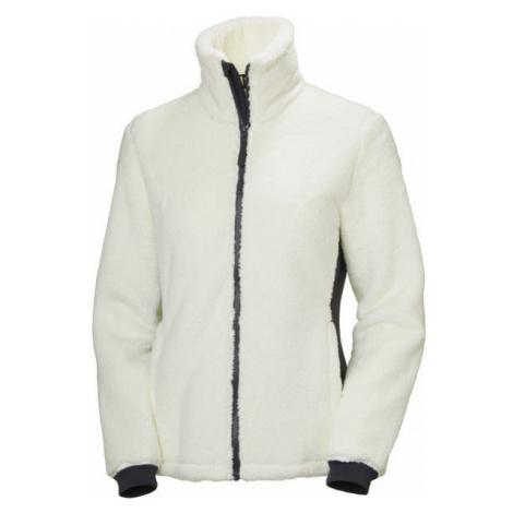 Helly Hansen W PRECIOUS FLEECE JACKET white - Women's fleece sweatshirt