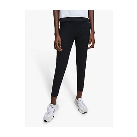 Calvin Klein Performance Mesh Tape Logo Leggings, Black