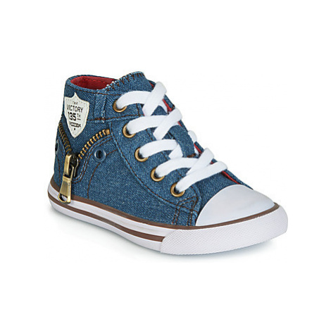 Chicco CRICO boys's Children's Shoes (High-top Trainers) in Blue