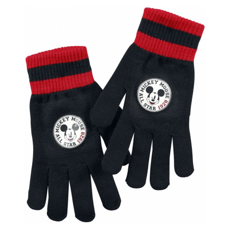 Mickey Mouse Mickey Mouse 1928 Full-fingered gloves black red