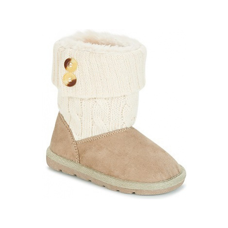 Chicco CHARME girls's Children's Mid Boots in Beige