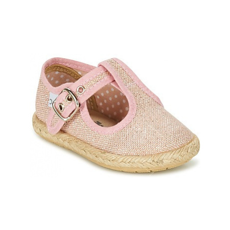 Citrouille et Compagnie GOUROU girls's Children's Shoes (Pumps / Ballerinas) in Pink