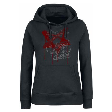 Gothicana by EMP - Promises - Girls hooded sweatshirt - black