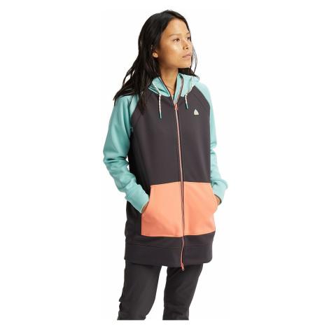Women's sports zip-through sweatshirts and hoodies