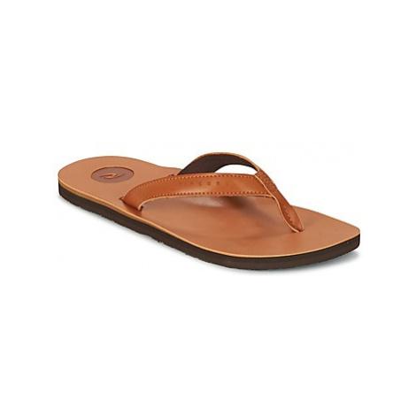 Rip Curl STONES men's Flip flops / Sandals (Shoes) in Brown