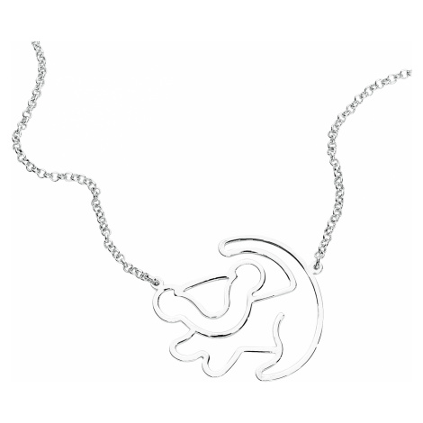 The Lion King - Disney by Couture Kingdom - Simba Silhouette - Necklace - Standard