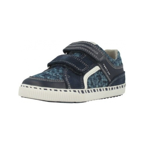Geox B KILWI B B boys's Children's Shoes (Trainers) in Blue