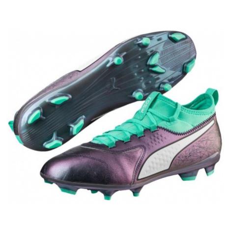 Puma ONE 3 IL LTH FG white - Men's football boots