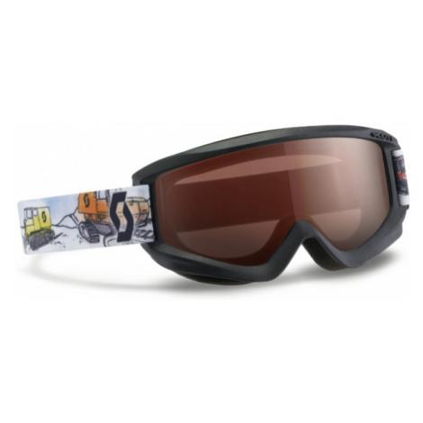 Scott JR AGENT AMPLIFIER black - Kids' ski goggles