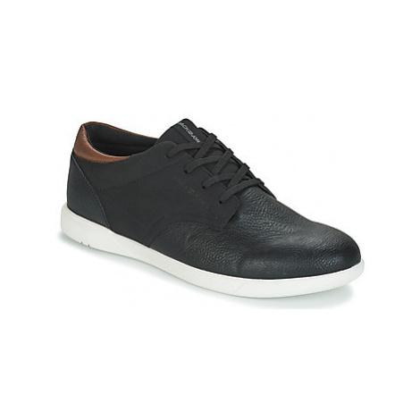 Jack Jones JAMIE PU COMBO men's Shoes (Trainers) in Black Jack & Jones