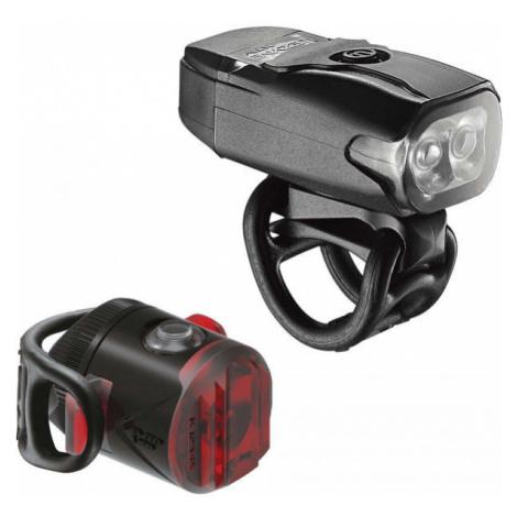 Lezyne KTV DRIVE / FEMTO USB PAIR black - Set of bicycle lights