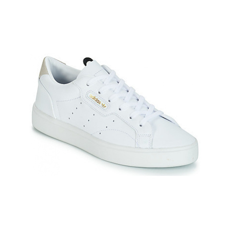 Adidas adidas SLEEK W women's Shoes (Trainers) in White