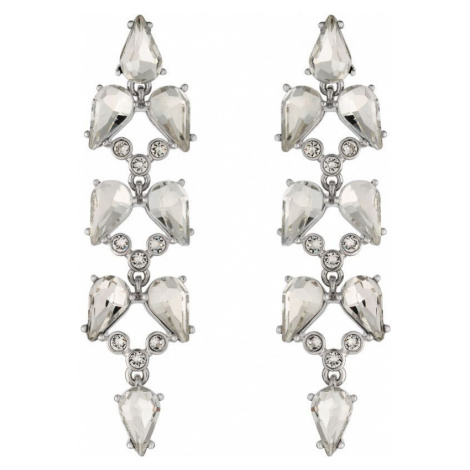 Marla Mayfair Crystal Long Drop Earrings