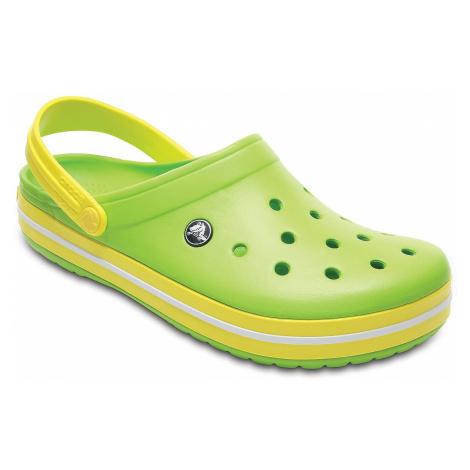 shoes Crocs Crocband - Volt Green/Lemon