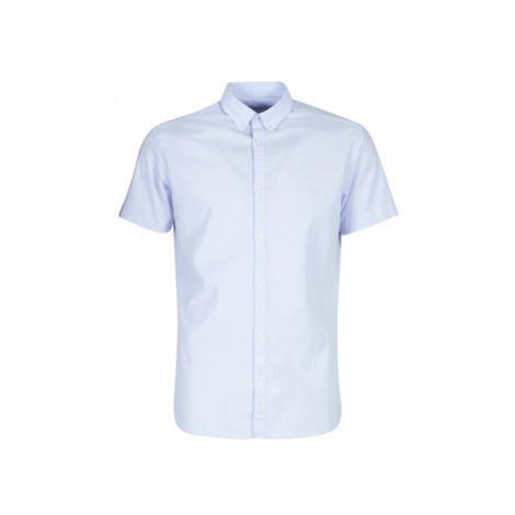 Jack Jones JPRLOGO men's Short sleeved Shirt in Blue Jack & Jones