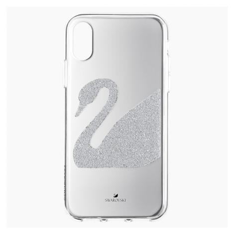 Swan Smartphone Case, iPhone® X/XS, Grey Swarovski