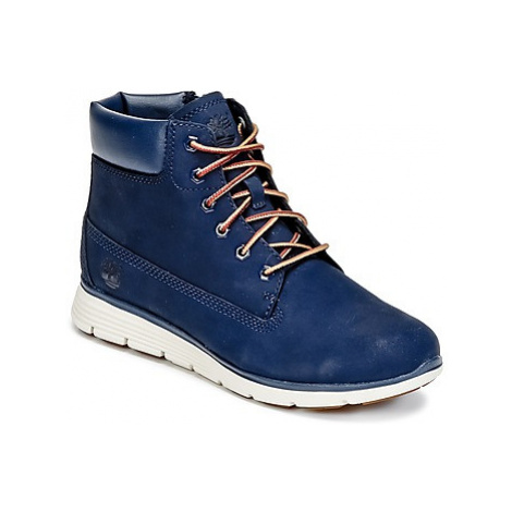 Timberland KILLINGTON 6 IN girls's Children's Mid Boots in Blue