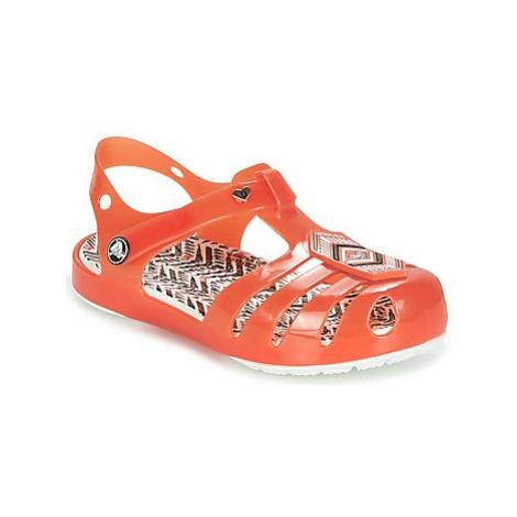 Crocs DREW X CROCS ISABELLA SANDAL K girls's Children's Clogs (Shoes) in Red