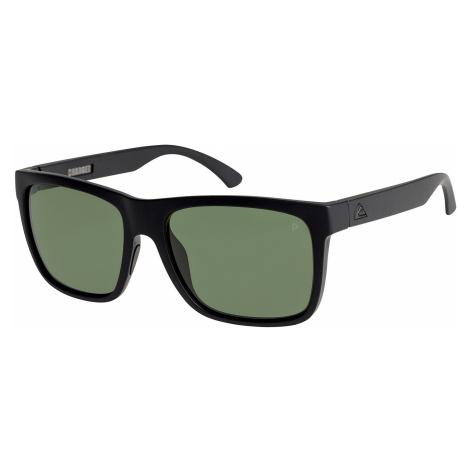 glasses Quiksilver Charger Premium - XMKM/Matte Black/Mineral Glass Green Polarized - men´s