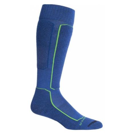 Icebreaker SKI + OVER THE CALF blue - Knee-high socks Icebreaker Merino