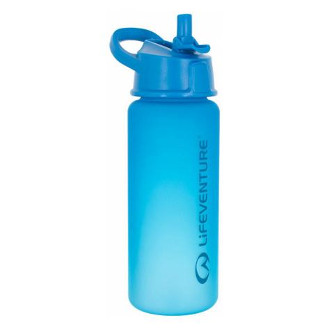 Lifeventure 750ml Flip Top Water Bottle-Blue