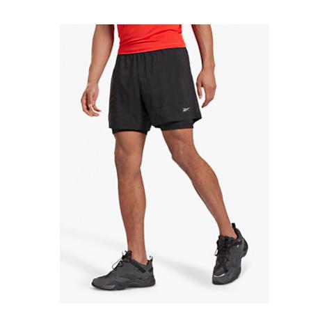 Reebok Running Essentials 2-in-1 Running Shorts, Black