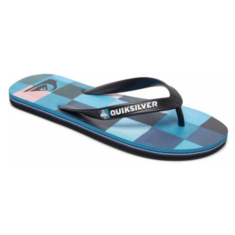 flip flops Quiksilver Molokai Resin Check - XKBR/Black/Blue/Red