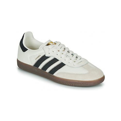Adidas SAMBA OG FT men's Shoes (Trainers) in Beige