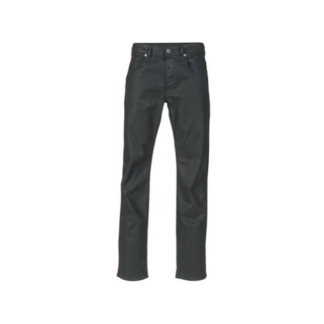 G-Star Raw 3301 STRAIGHT men's Jeans in Black