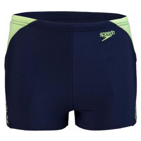 Speedo BOOM SPLICE AQUASHORT dark blue - Boys' swimming shorts
