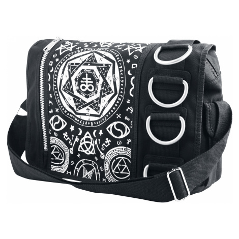 Banned - Pentagram - Messenger bag - black