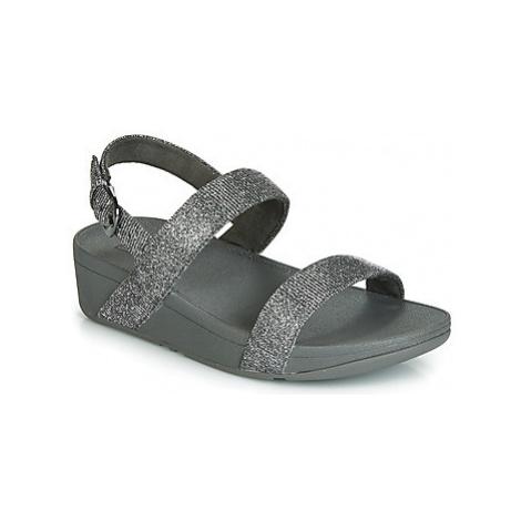 FitFlop LOTTIE GLITZY BACKSTRAP SANDAL women's Mules / Casual Shoes in Silver