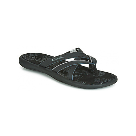 Columbia KAMBI II women's Flip flops / Sandals (Shoes) in Black