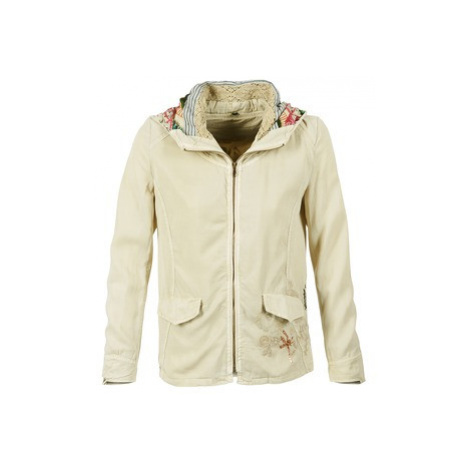 Desigual IDOULE women's Jacket in Beige