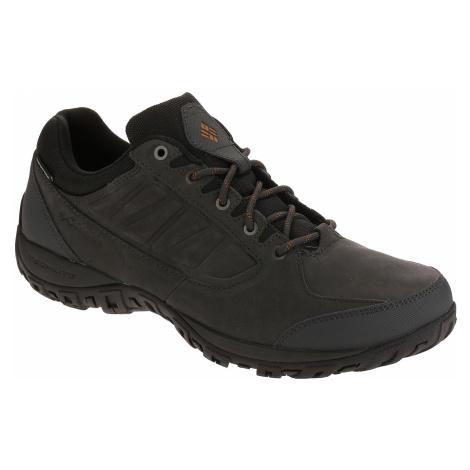 shoes Columbia Ruckel Ridge Plus Waterproof - Shark/Bright Copper - men´s